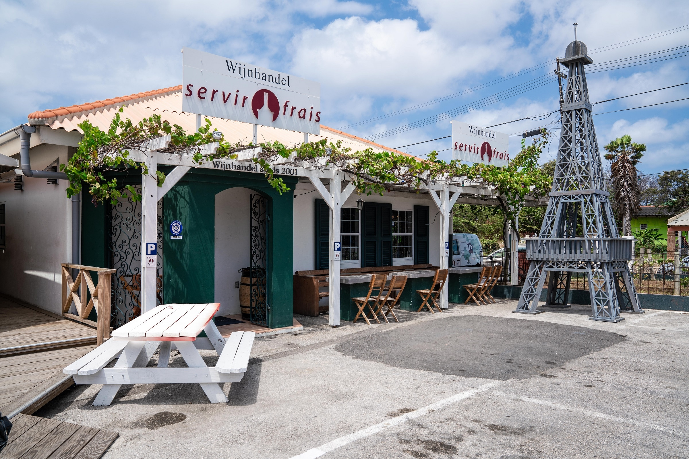 wijnhandel curacao servir frais