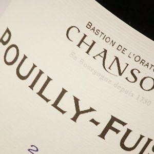 Chanson-Pouilly-Fuissé