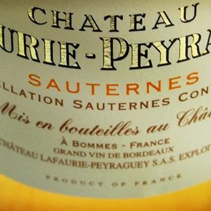 Chateau-Lafaurie-Peyraguey-Sauternes